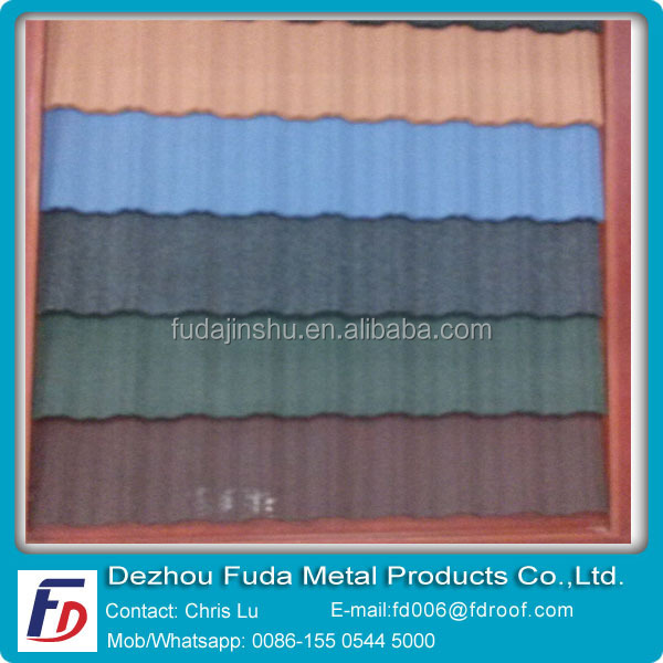 Galvalumed Steel Plate Matal Roof Tiles