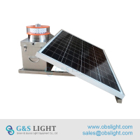 GS-MS/A Made in China Medium Intensity Type A Solar obstruction lights/Aircraft Warning Lights