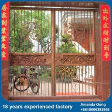 New Practical Steel Tubular Grill Design Pipe Entrance Gate