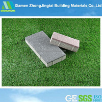 Water permeable roman ceramic floor tiles