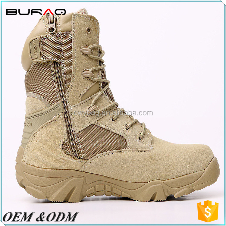 Professional military US army desert jungle combat tactical boots