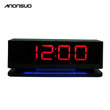 Anonsuo DS-1188 Led Light The Alarm-Clock Wireless Bluetooth Speaker Passive A1 Home Theatre Speaker For Hotel With Fm Radio