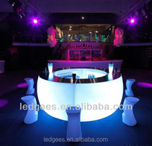 Cool luminous bar counter furniture restaurant tables and chairs