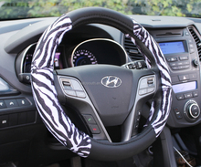 CXPF13612345steering wheel Universal hand Leather Sewing Car Steering Wheel Cover from China supplier