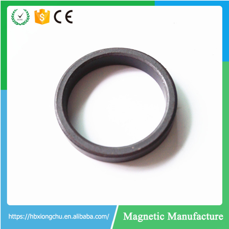 Ferrite Big radial Ring Magnet for Speaker