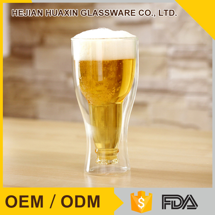 Cheap Hand Blown Personalized Custom Beer Glass Glassware