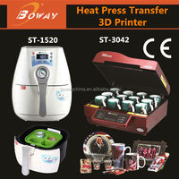3D sublimation vacuum heat transfer photo crystal printer price