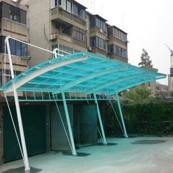 carports PC material 2 car parking canopy tent