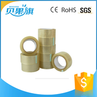 BOPP Packing Tape With Printed Logo / Transparent Carton Sealing Tape / BOPP Clear Packaging Tape