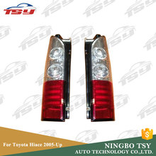 PMMA+ABS Reconfigure LED Tail Light For Toyota Hiace 2005-up