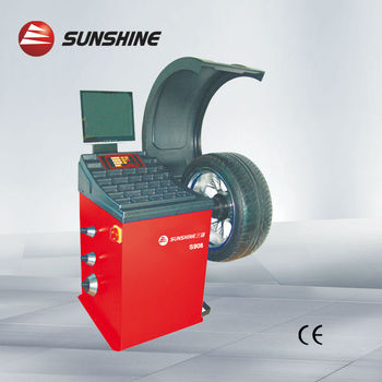 3D animation display tire balancer S909
