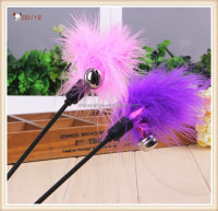 Feather Cat Toy Rabbit Fur Cat Toy Cat Teaser Toys