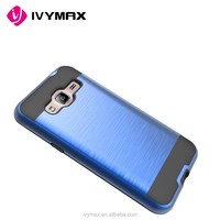 China companies looking for distributors aluminum brushed metallic back cover for samsung galaxy J3