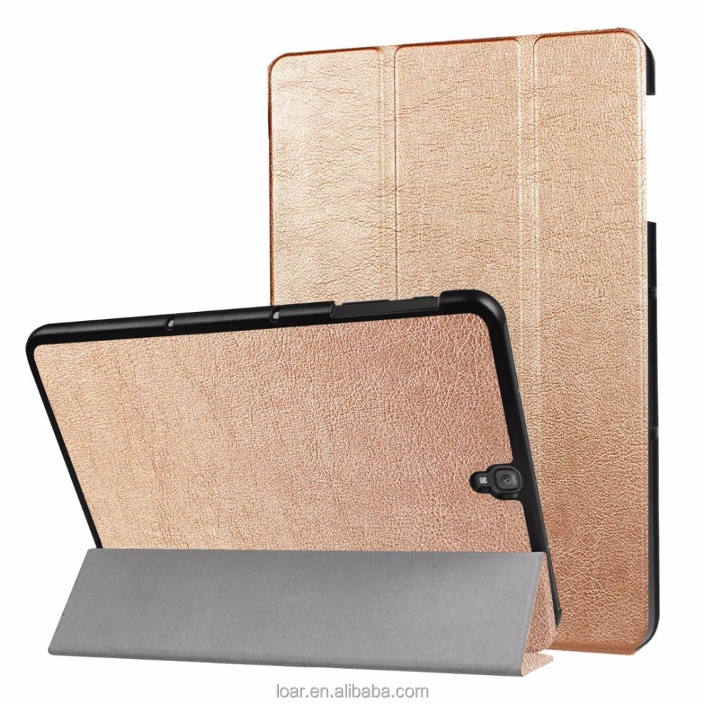 New ultra thin Leather Flip cover for samsung galaxy tab s3 9.7 T820 tablet case