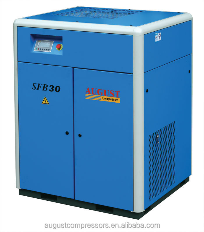 AUGUST SFB30 30KW/40HP air compressor specification