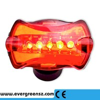 attractive design 5 LED 7 Modes Ultra Bright Bike Bicycle Rear Back Lamp Light big sale !