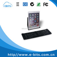Mini folding wireless bluetooth keyboards for ipad/mobile phone/tablet PC/desktop