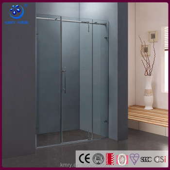 Frameless Hinged outward Shower Door (KD8018)