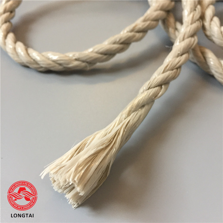 knitting carpet 6mm linen color twine