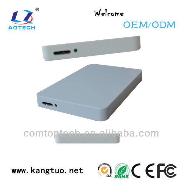 fashion mini 2.5 inch usb 3.0 SATA HDD enclosure for 2TB hard disk drive high quality from manufacturer