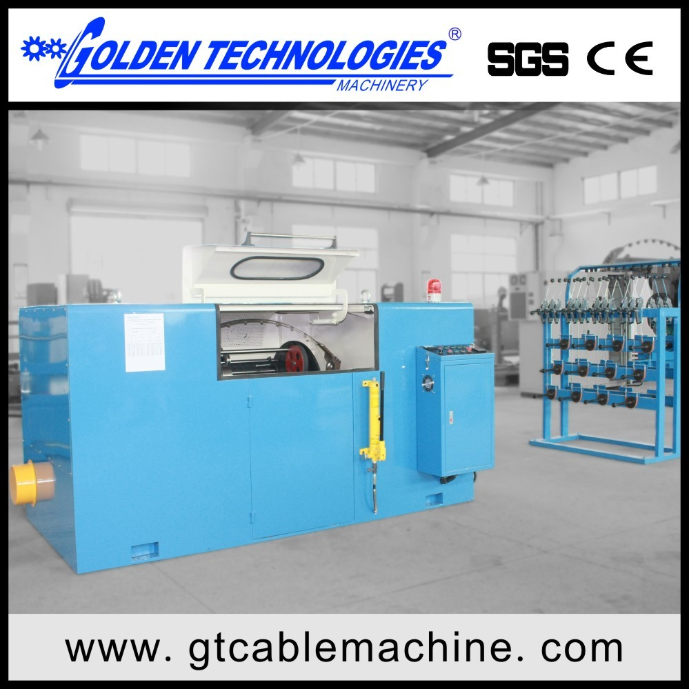Wire Cables Copper bunching Twisting machine