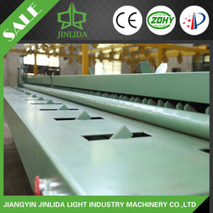 Width 4300mm Gabion Side Bordering Machine Edge Curl System Wire Bending Machine