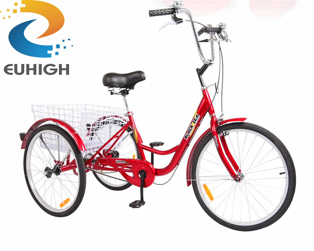 Factory whosale best selling china cargo adult tricycle