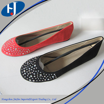Alibaba china supplier soft lady modern ballerina shoes