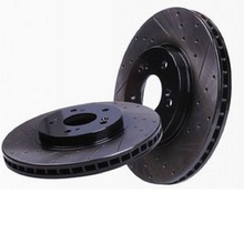 high quality car black hat coated disc brake rotor