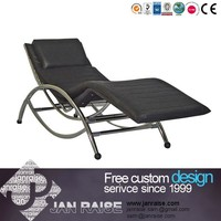 2015 Simple Design Leather lounge chair reclining chair recliner chair OK-7005