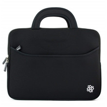 Ultraportable Neoprene Laptop Carrying Case Messenger Bag Daily Briefcase for Work School Travel