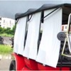 Cheap excellent quality side sunshade curtain golf cart part
