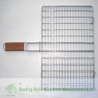 BBQ barbecue mesh / bbq grill wire mesh supplier /stainless Steel BBQ grill (factory)