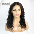 Factory new design 10A grade 1b Color natural wave Indian Human Hair full lace Wig