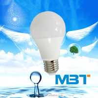 M.B.T LIGHTING New Best Selling high power 7w led globe bulb E27 with CE and RoHS