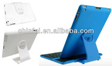 Bluetooth keyboard with plastic stand for iPad 2/the new iPad/iPad 4