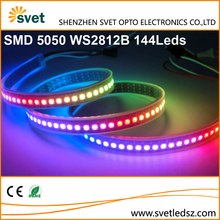 DMX Led Ribbon 144 Pixels Led Strip WS2812B 5050 DC5V Individual Color Programmable