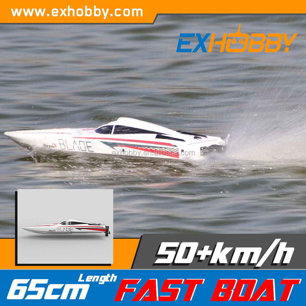 Powerful brushless RTR length 26.18 in red blue mini jet boat 792-2