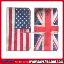 Filp case for Samsung Galaxy Note 3 N9000 USA UK National flag leather case