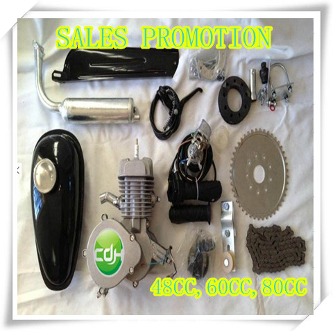 Gas Moped Motor Kit 50cc/ Bike Engine Motor Kit Gas Motorized Bicycle