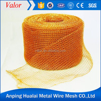 Factory Price Copper Knitted Gas Liquid FIlter Wire mesh (ISO Approved)
