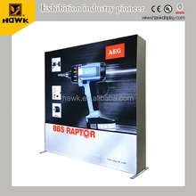 Modular Exhibition Stand Fabric Backlit Pop up Display