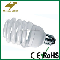 full spiral T2 energy saving bulbs warranty 2 years tri-color 240V