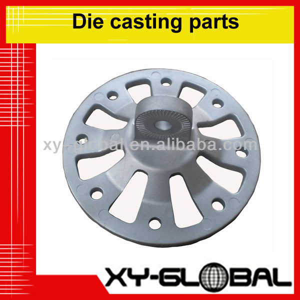 custom made high quality alminum die casting parts used in motorcycle engine