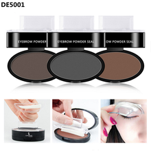 Best Selling Product 2017 Eyebrow Stamps Stencils Private Label Eyebrow Powder Seal With 3 Shapes