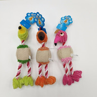 Bird Shaped Interactive Best Puppy Plush Rope Toys for Dogs