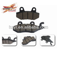 motorcycle semi-metallic brake disc pad for sale