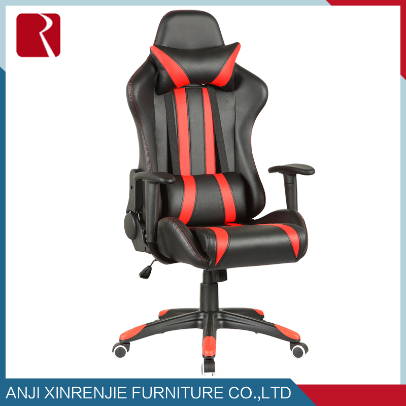 2017 Racing chair/sparco racing seat office chair with footrest RJ-8000