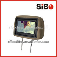 "9"" in Bus Seat Touch Screen for Passenger Entertainment with Server"