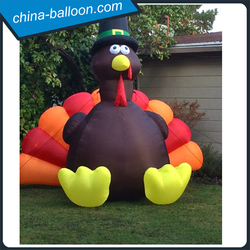 Halloween inflatable turkey thanksgiving inflatable decorative turkey advertising inflatable turkey
